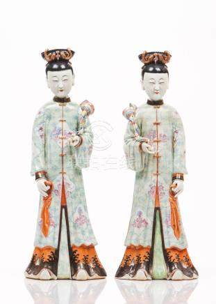 A pair of figures