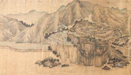 Chinese school of the late 18th, early 19th century