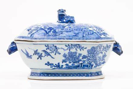 A tureen and cover