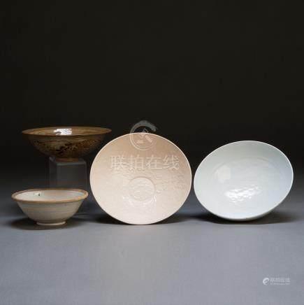 宋 高古瓷碗一组