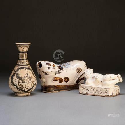明 磁州窑瓷器一组