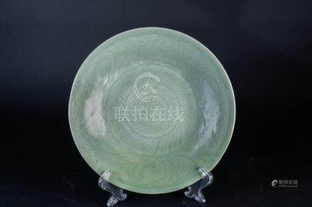 Chinese Art A Longquan celadon dish China, Ming dynasty, 15t