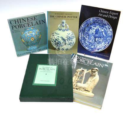 Three books on Chinese Art, comprising: 'Chinese Art and Design' edited by Craig Clunas; 'Chinese