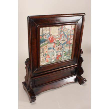 Chinese Qing Dynasty, Late 19th Century Table