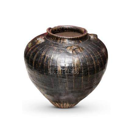Very Large Martaban Stoneware Jar,
