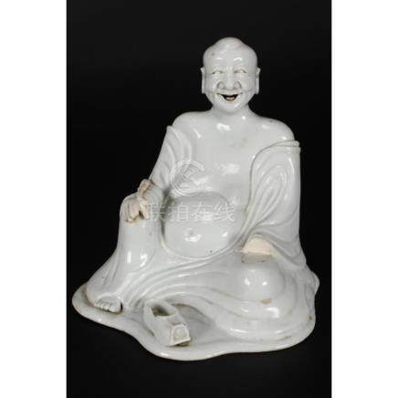 Chinese Qing Dynasty, Kang Hsi Blanc De Chine