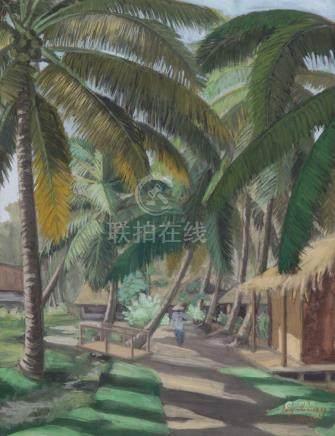 NGUYEN CONG, ÉCOLE VIETNAMIENNE VERS 1930 1950