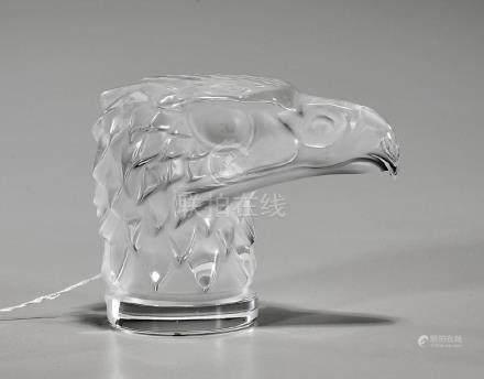 Lalique 'Tete D'aigle' Sculpture