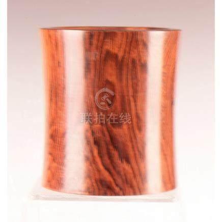 Timber Brush Pot