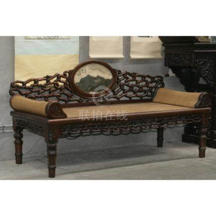Chinese Rosewood Day Time Rest Bed