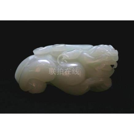 White Jade Figurine