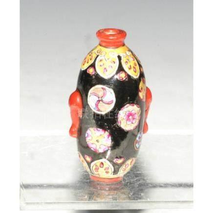 Porcelain Snuff Bottle.