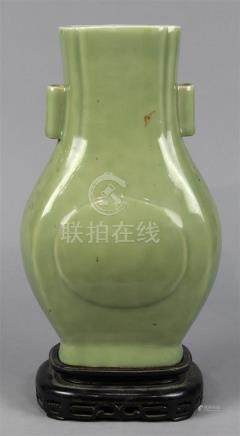 Chinese Celadon Glazed Arrow Vase