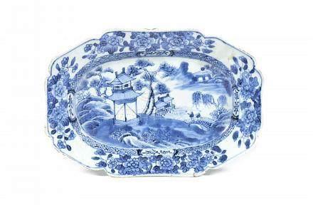Pequena travessa em porcelana chinesa
