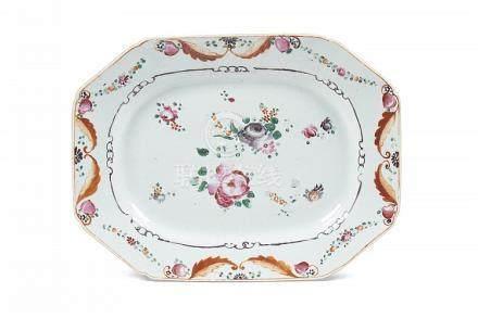 Travessa em porcelana chinesa Companhia das Índias
