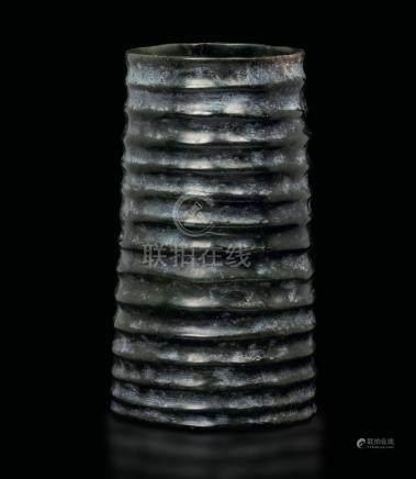 A jade vase, China, prob. Song Dynasty