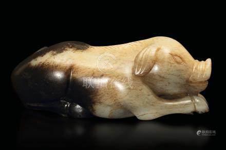 A small jade figure, China, prob. Ming Dynasty