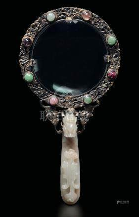 A magnifying glass, China, Qing Dynasty, 1800s