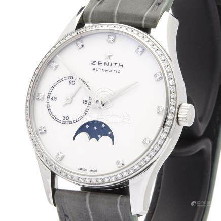 2017 Zenith Elite Ultra Thin Lady Moonphase Stainless Steel - 16.2310.692/81.C706