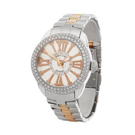 2018 Backes & Strauss Piccadilly Diamond Stainless Steel - PC37MAD2R.ST.SP.BIC.WRR