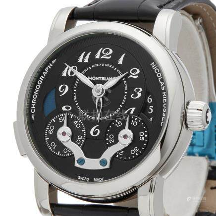 2017 Montblanc Nicolas Rieussec 42mm Stainless Steel - 106488