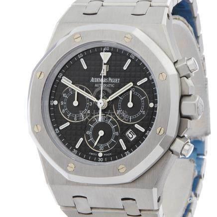 2000 Audemars Piguet Royal Oak Chronograph Stainless Steel - 25860ST.OO.1110ST.04