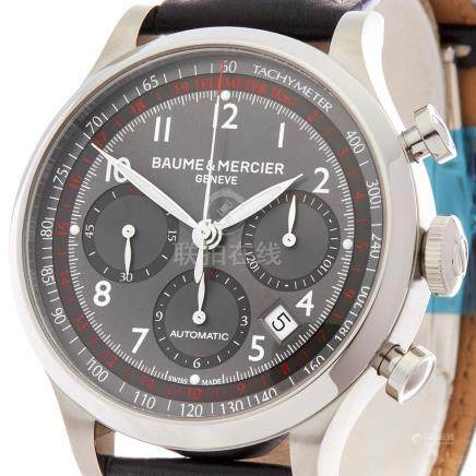 2017 Baume & Mercier Capeland Chronograph 42mm Stainless Steel - MOA10003