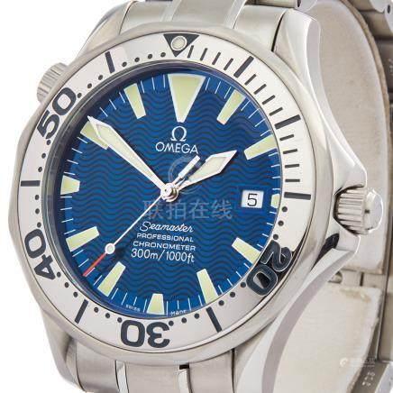 2000 Omega Seamaster Stainless Steel - 2255.80.00