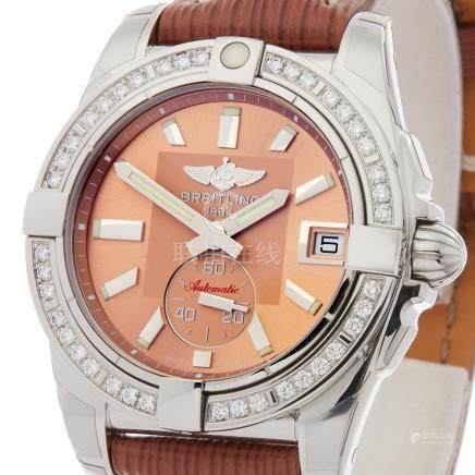 2018 Breitling Galactic Diamond Stainless Steel - A3733053/Q582