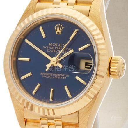 1999 Rolex Datejust 26 18K Yellow Gold - 79178