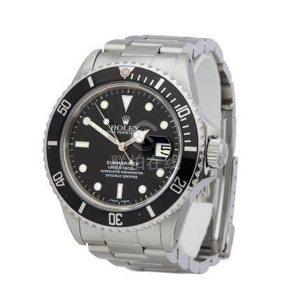 1985 Rolex Submariner Stainless Steel - 16800
