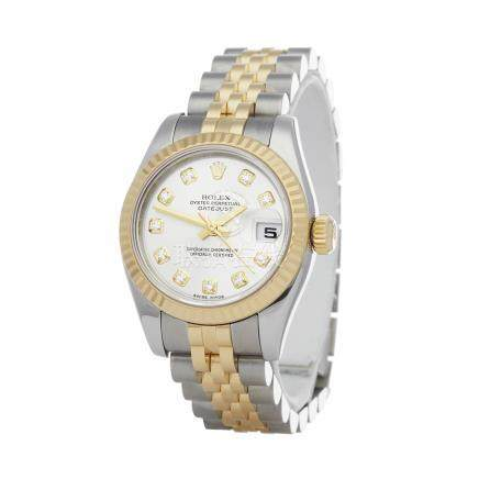 2010 Rolex Datejust 26 Stainless Steel & 18K Yellow Gold - 179173 G