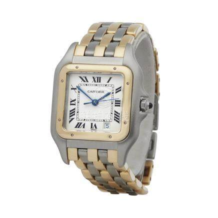 2000 Cartier Panthère Stainless Steel & 18K Yellow Gold - 2495
