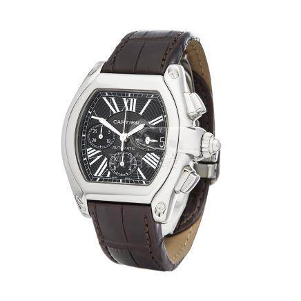 2010 Cartier Roadster Chronograph XL Stainless Steel - 2618