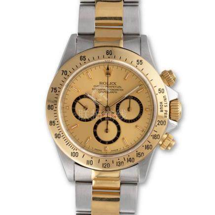 Rolex – Cosmograph Daytona, ref. 16523, Steel and gold, with