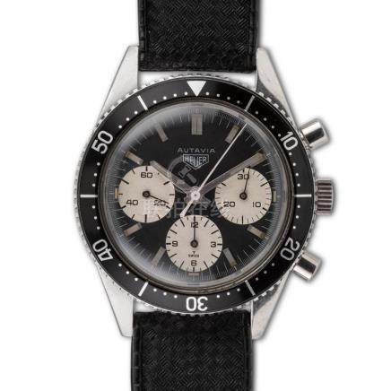 Heuer – Autavia, ref. 2446, third transitional execution chr