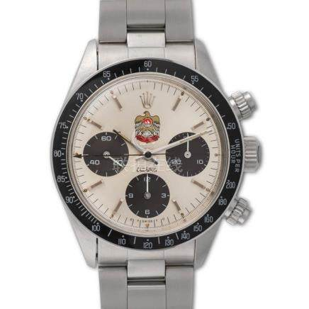 "Rolex – cosmograph Daytona, ref. 6263, Dial with ""UAE Qurays"