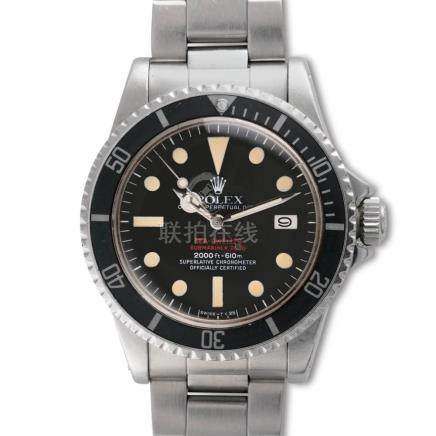 "Rolex – COMEX ""Double Red"" Sea-Dweller, Ref. 1665, Fresh to"