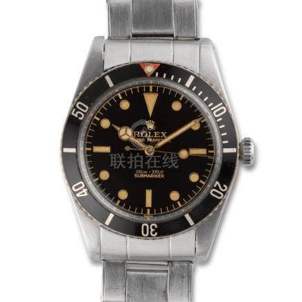"RoleX – Submariner ""James Bond"", ref. 5508, stainless steel"