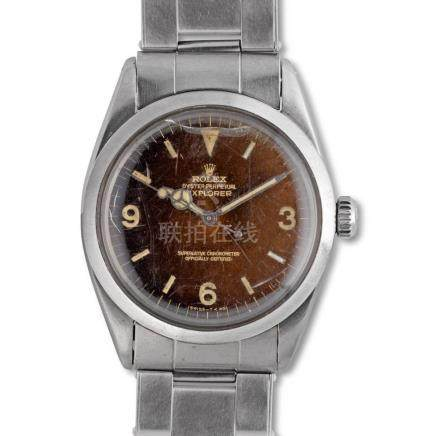 "Rolex – Explorer, ref. 1016, ""Tropical Caramel-brown"" dial,"