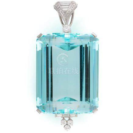 *David Webb – Impressive approx. 250 carats aquamarine not h