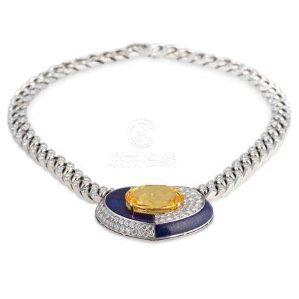 Bulgari – Very desirable not heated, approx. 40 carats Yello