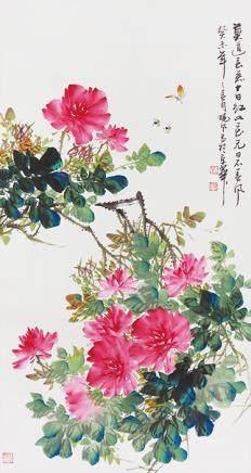 劉曉風  花卉