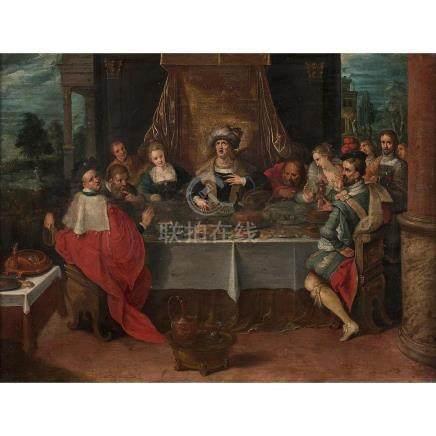 École FLAMANDE vers 1620, atelier de Frans FRANCKEN