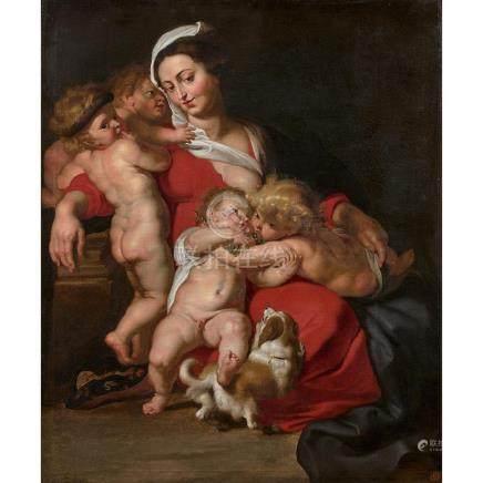 ÉCOLE FLAMANDE VERS 1630, ATELIER DE PIERRE PAUL RUBENS La C