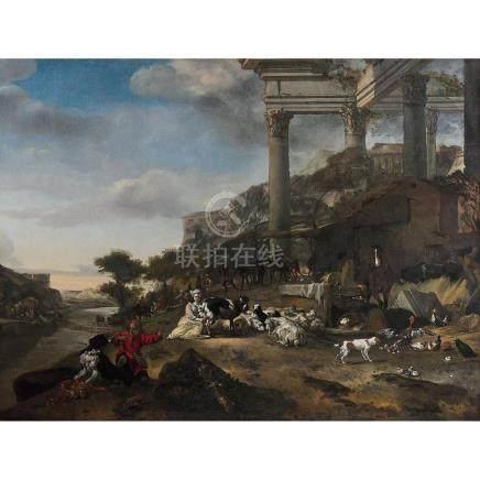 Jan Baptist WEENIX (Amsterdam 1621-Utrecht vers 1660)