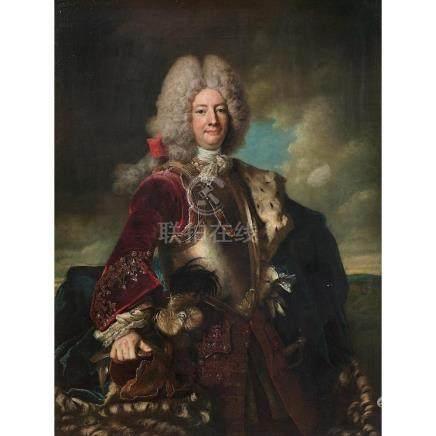 Attribué à Nicolas de Largillière Portrait d'un gentilhomme