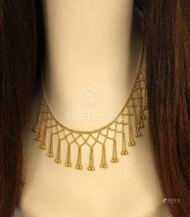 STUNNING 22K YELLOW GOLD LADIES LAVISH LACY DRESS