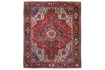 A HERIZ CARPET, NORTH-WEST PERSIA approx: 9ft. x 7ft.8in.(27