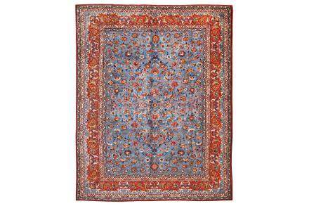 A FINE ISFAHAN CARPET, CENTRAL PERSIA approx: 13ft.2in. x 10